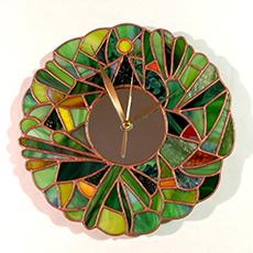 tiffany óra - üvegcse.design - különleges díszüvegezés