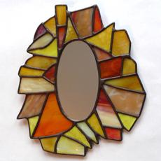 tiffany tükör - üvegcse.design - különleges díszüvegezés
